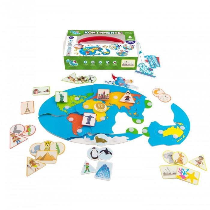Игры для малышей Pic`n Mix Игра настольная развивающая Аркадий Паровозов Континенты настольные игры pic nmix