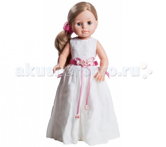 Paola Reina Кукла Эмма 06040 42 смКукла Эмма 06040 42 смPaola Reina Кукла Эмма 42 см   Миловидное личико, шелковистые волосы и яркий наряд – вот то, что ценится в любой кукле. А Эмма наделена всеми этими качествами!   Особенности: кукла размером 42 см, глаза вставные кристаллы твердого пластика, закрываются, конечности подвижные, губы, щеки, веснушки, волосы – ручная работа, волосы изготовлены из высококачественного нейлона, поэтому легко расчесываются и блестят, от куклы исходит приятный легкий ванильный аромат, кукла изготовлена из нежного бархатистого винила, уникальный дизайн торговой марки Paola Reina узнаваем в каждой кукле, одежда высокого качества, швы тщательно обработаны.<br>