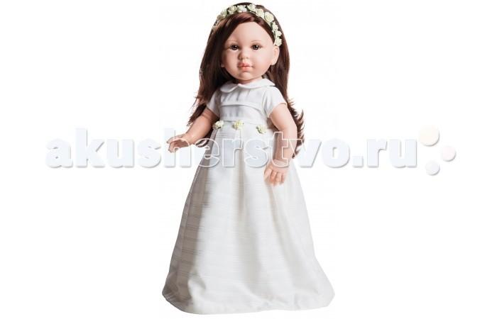 Paola Reina Кукла Норма 42 смКукла Норма 42 смPaola Reina Кукла Норма 42 см   Миловидное личико, шелковистые волосы и яркий наряд – вот то, что ценится в любой кукле. А Норма наделена всеми этими качествами!   Особенности: У куклы Paola Reina нежный ванильный аромат.  Уникальный и неповторимый дизайн лица и тела. Ручная работа (ресницы, веснушки, щечки, губы, прическа). Волосы легко расчесываются и блестят. Глазки не закрываются. Ручки, ножки и голова поворачиваются.  Качество подтверждено нормами безопасности EN71 ЕЭС.   Материалы: кукла изготовлена из винила глаза выполнены в виде кристалла из прозрачного твердого пластика волосы сделаны из высококачественного нейлона.<br>