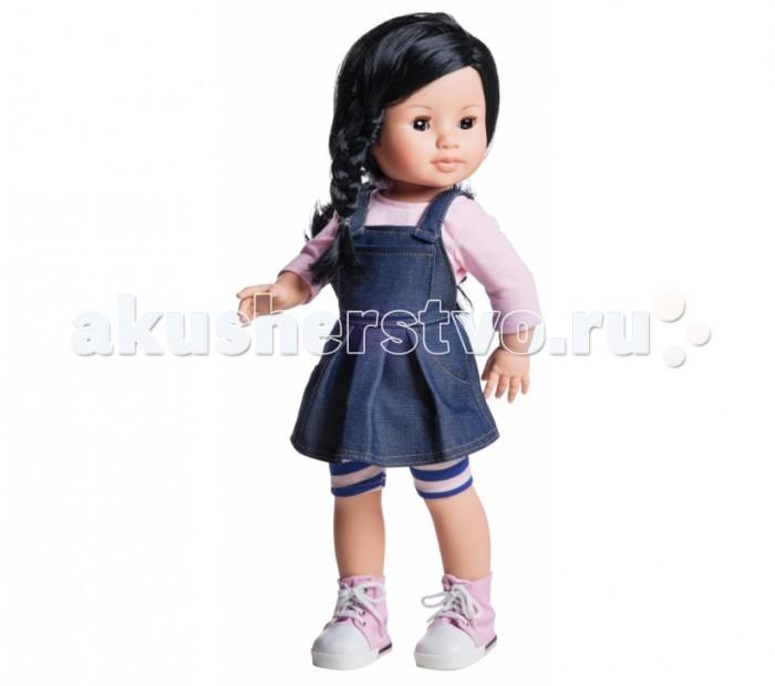 Paola Reina Кукла Лис 42 смКукла Лис 42 смPaola Reina Кукла Лис 42 см   Миловидное личико, шелковистые волосы и яркий наряд – вот то, что ценится в любой кукле. А Лис наделена всеми этими качествами!   Особенности: У куклы Paola Reina нежный ванильный аромат.  Уникальный и неповторимый дизайн лица и тела. Ручная работа (ресницы, веснушки, щечки, губы, прическа). Волосы легко расчесываются и блестят. Глазки не закрываются. Ручки, ножки и голова поворачиваются.  Качество подтверждено нормами безопасности EN71 ЕЭС.   Материалы: кукла изготовлена из винила глаза выполнены в виде кристалла из прозрачного твердого пластика волосы сделаны из высококачественного нейлона.<br>