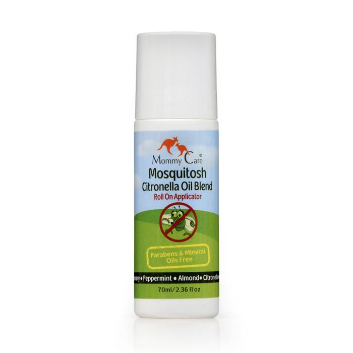Средства от насекомых Mommy Care Роликовый гель для отпугивания насекомых 70 мл mommy care натуральный гель для душа 200 мл