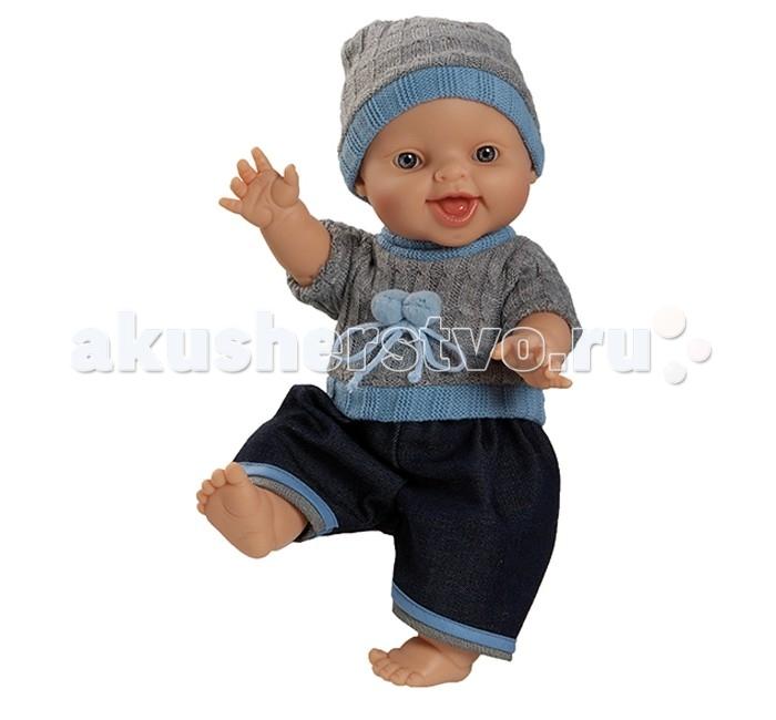 Куклы и одежда для кукол Paola Reina Кукла Горди Бруно 34 см ( мальчик) кукла пупс горди без одежды мальчик европеец 34 см paola reina