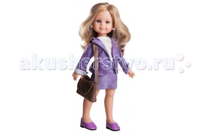 Paola Reina Кукла Клэр руководитель 32 смКукла Клэр руководитель 32 смPaola Reina Кукла Клэр руководитель 32 см - яркая стильная игрушка, которая обязательно понравится каждой девочке и станет ее лучшей подружкой.   Миловидное личико, шелковистые волосы и яркий наряд – вот то, что ценится в любой кукле. Клэр наделена всеми этими качествами!   Особенности: У куклы Paola Reina нежный ванильный аромат.  Уникальный и неповторимый дизайн лица и тела. Ручная работа (ресницы, веснушки, щечки, губы, прическа). Волосы легко расчесываются и блестят. Глазки не закрываются. Ручки, ножки и голова поворачиваются.  Качество подтверждено нормами безопасности EN71 ЕЭС.   Материалы: кукла изготовлена из винила глаза выполнены в виде кристалла из прозрачного твердого пластика волосы сделаны из высококачественного нейлона.<br>