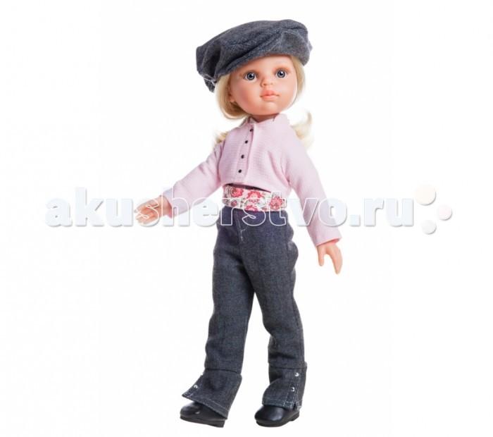 Куклы и одежда для кукол Paola Reina Кукла Клаудия наездница 32 см paola reina пупс без одежды 22 см 31019