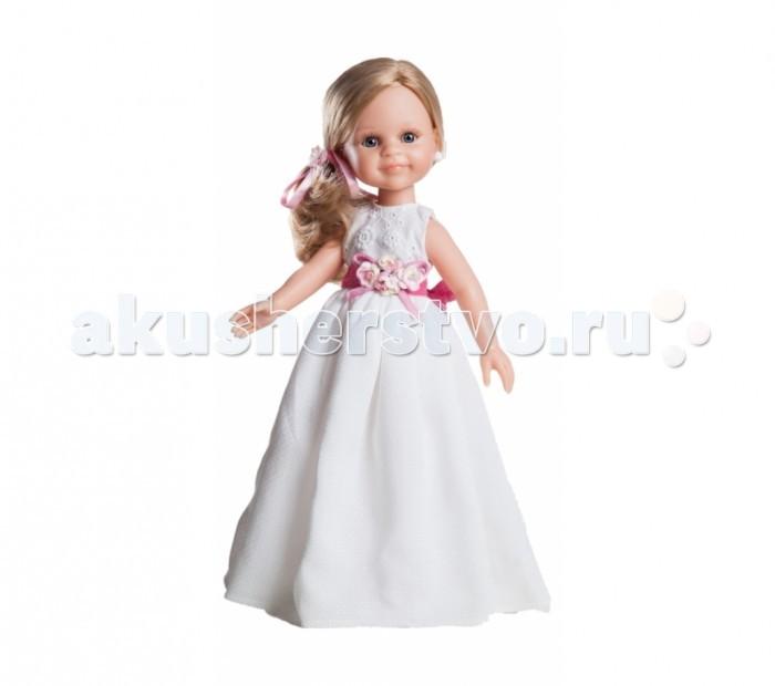 Paola Reina Кукла Клэр 04820 32 смКукла Клэр 04820 32 смPaola Reina Кукла Клэр 32 см - яркая стильная игрушка, которая обязательно понравится каждой девочке и станет ее лучшей подружкой.   Миловидное личико, шелковистые волосы и яркий наряд – вот то, что ценится в любой кукле. Клэр наделена всеми этими качествами!   Особенности: У куклы Paola Reina нежный ванильный аромат.  Уникальный и неповторимый дизайн лица и тела. Ручная работа (ресницы, веснушки, щечки, губы, прическа). Волосы легко расчесываются и блестят. Глазки не закрываются. Ручки, ножки и голова поворачиваются.  Качество подтверждено нормами безопасности EN71 ЕЭС.   Материалы: кукла изготовлена из винила глаза выполнены в виде кристалла из прозрачного твердого пластика волосы сделаны из высококачественного нейлона.<br>