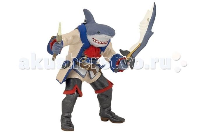 Игровые фигурки Papo Игровая реалистичная фигурка Пират-акула мутант
