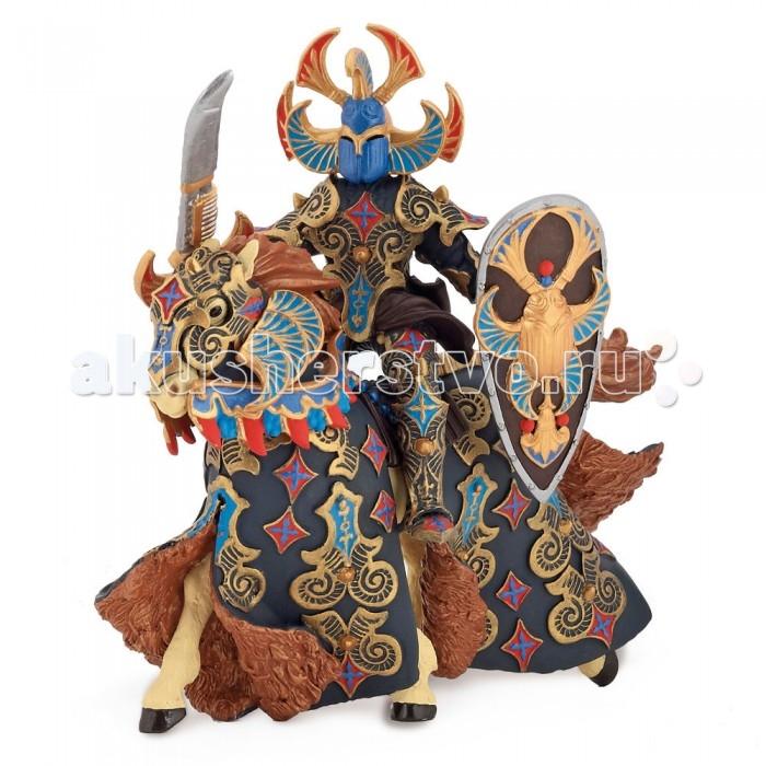 Papo Игровая реалистичная фигурка Воин черного паука и его лошадь