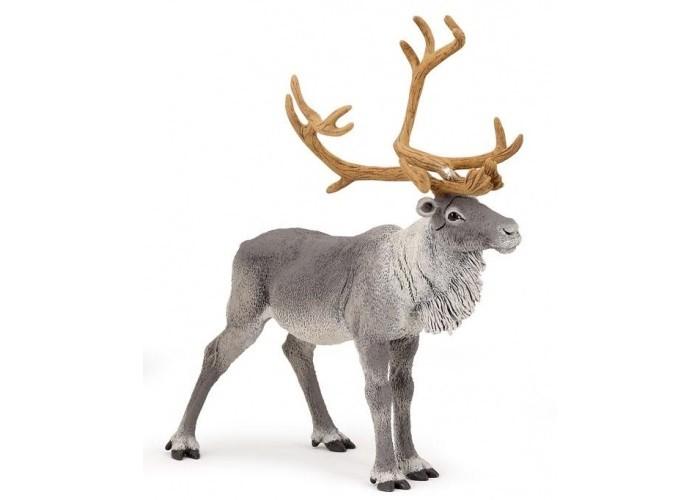 Игровые фигурки Papo Игровая реалистичная фигурка Северный олень hansa мягкая игрушка верблюд