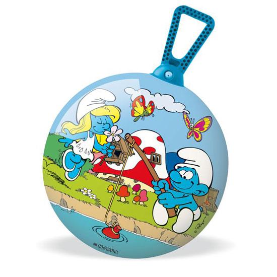 Спорт и отдых , Мячи Mondo Мяч-попрыгунчик Cмурфы 45 см арт: 13471 -  Мячи