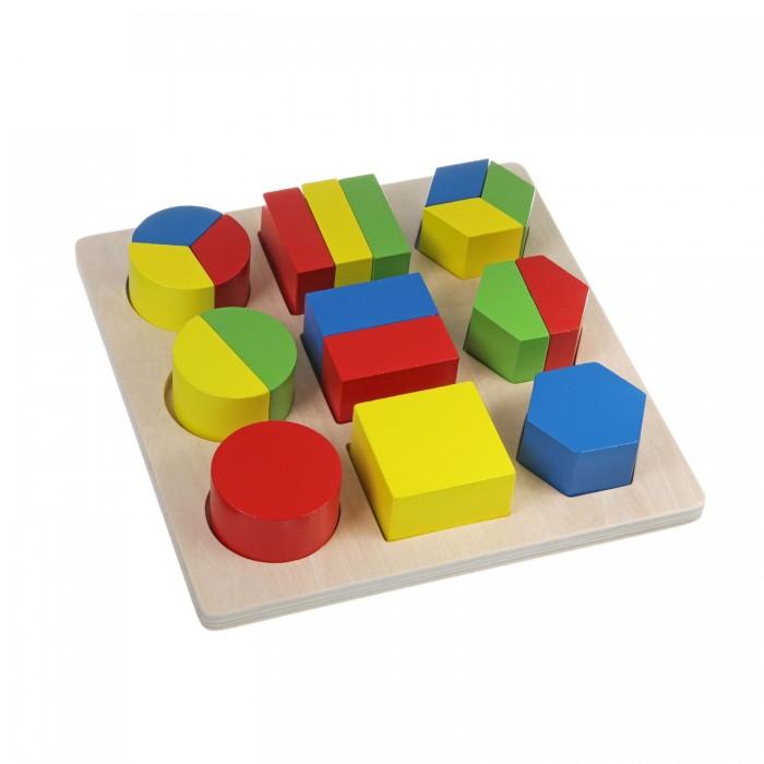Деревянная игрушка Bondibon Дроби