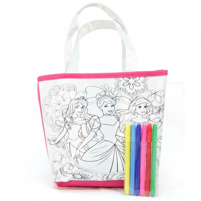 Заготовки под роспись Disney Набор для раскрашивания сумки Принцессы bagia сумки в москве