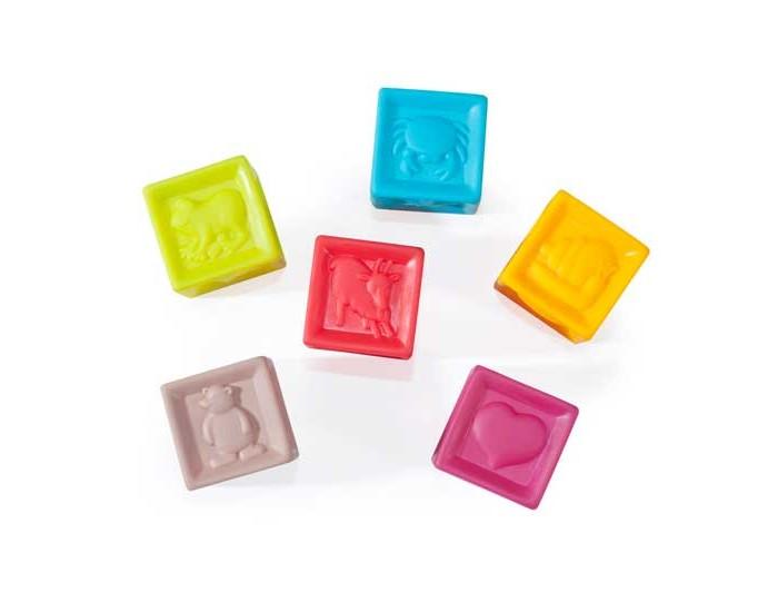 Игрушки для ванны Babymoov Игрушка для купания Кубики А104925 детская игрушка для купания 5