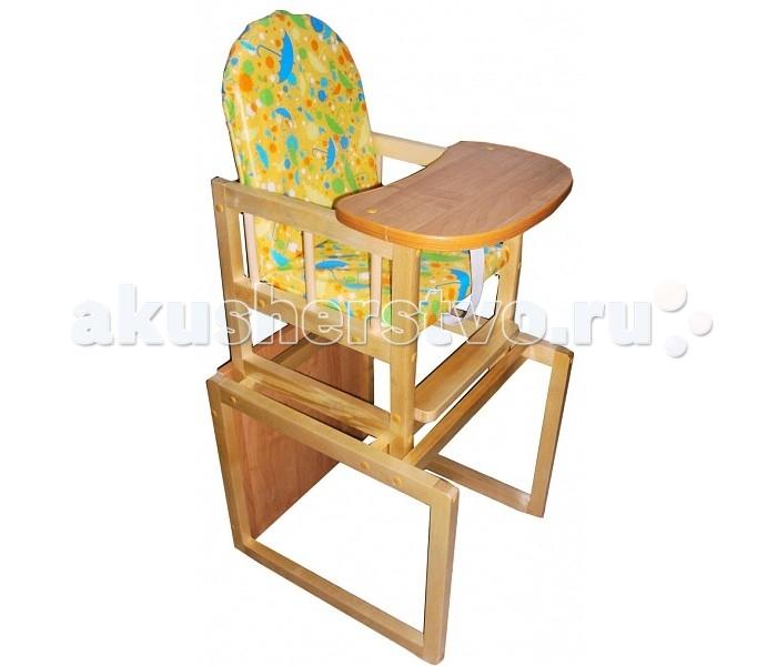 Стульчики для кормления Уренский Леспромхоз Заюшка деревянный необычная мебель столик стул кошка