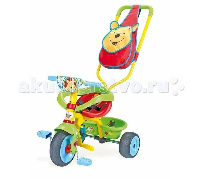 Трехколесные велосипеды Smoby Be Fun Confort Winnie smoby велосипед be fun confort трехколесный с сумкой