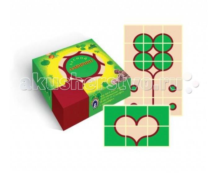 Игры для малышей Маленький гений Игра Лесной лабиринт маленький гений настольная игра поймай жука