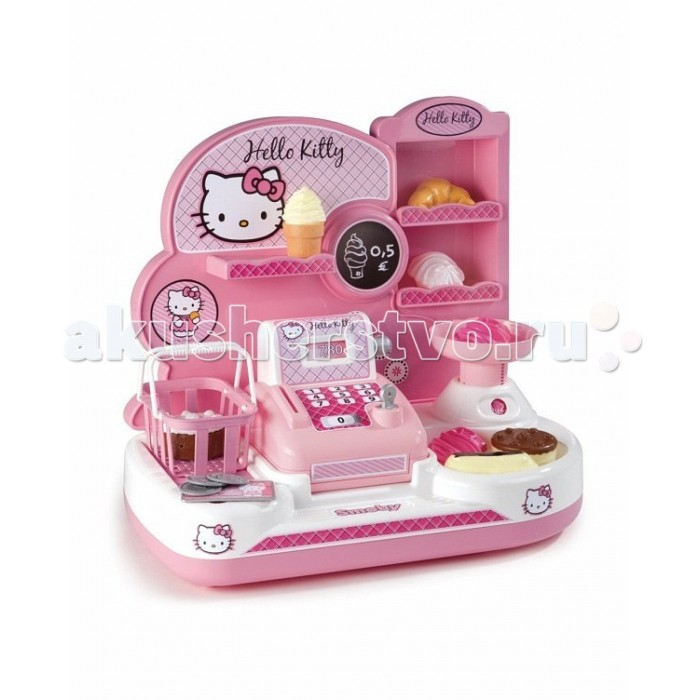 Ролевые игры Smoby Мини-магазин Hello Kitty мини карнизы где в балашове