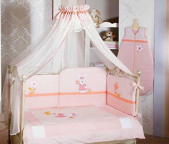 Комплект в кроватку Feretti Bee Sestetto Long (6 предметов)