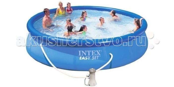 Бассейн Intex Easy Set 457х84 см с фильтром и аксессуарами