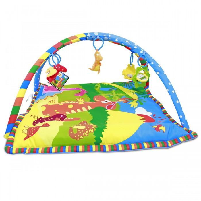 Купить Развивающие коврики, Развивающий коврик Ути Пути детский с дугами Динозаврик