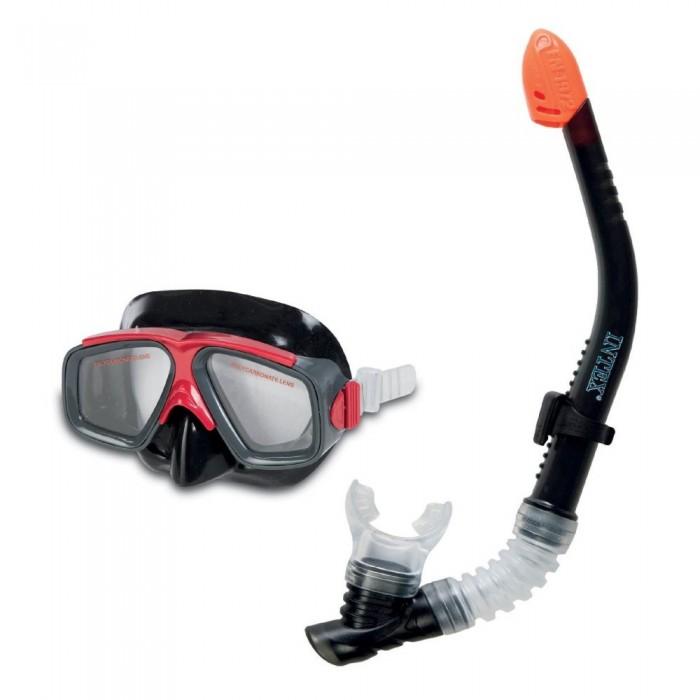 Очки, маски и трубки для плавания Intex Набор для подводного плавания Серфингист очки для плавания детские intex эстафета