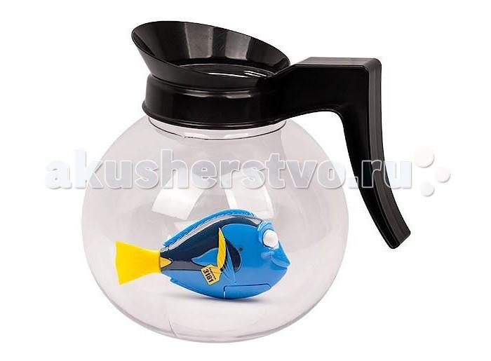 Интерактивные игрушки Robofish Dory Роборыбка Дори и аквариум-кофейник