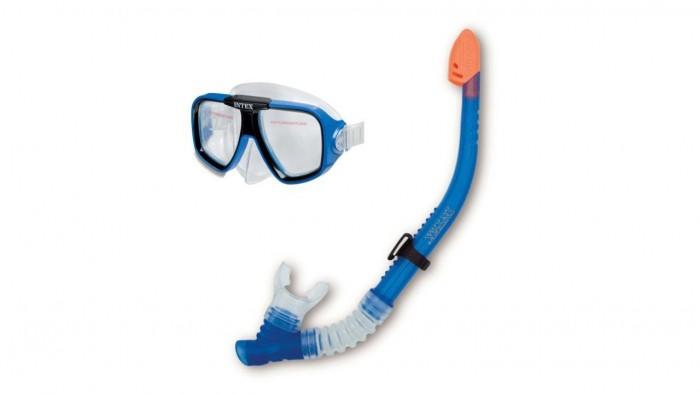Очки, маски и трубки для плавания Intex Набор для плавания Классик очки для плавания детские intex эстафета