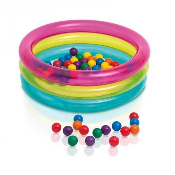 Intex Надувной бассейн с шариками