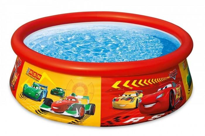 Бассейн Intex Easy Set Cars 183х51 смEasy Set Cars 183х51 смНадувной бассейн Intex Easy Set обладает двумя важными качествами: простотой конструкции и лёгким весом.   В верхней части предусмотрено надувное кольцо, которое по мере наполнения бассейна водой, поднимает и расправляет стенки, обеспечивая необходимую устойчивость. Всего 10 минут потребуется на установку конструкции.   Технология Super-Touch (сочетание винила и полиэстра), используемая в производстве, наделяет материал тройной прочностью, стойкостью к ударам, воздействию солнечного света, растягиваниям и стираниям.   Надувные бассейны, за счет отсутствия металлического каркаса, удобны в хранении и в сложенном виде не займут много места. Модель оснащена клапаном для удобства слива воды и разъемами для подключения фильтрующих и хлорирующих устройств.   В комплекте также идет ремкомплект. С его помощью вы сможете устранить самостоятельно какие-либо механические повреждения на изделии, приобретенные в ходе его использования.  Размер: 183х51 см.  Вместимость бассейна: 886 л.  Вес: 2.9 кг.<br>