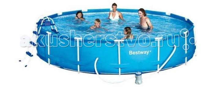 Бассейн Bestway каркасный SteelPro 549х107 см