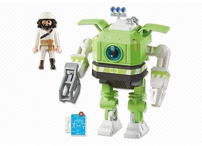 Конструкторы Playmobil Супер4: Робот Клеано playmobil® playmobil 5289 секретный агент мега робот с бластером