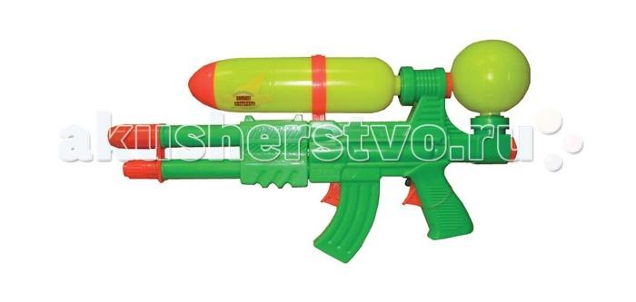 Игрушечное оружие Тилибом Водный пистолет с 2 отверстиями водный пистолет тилибом с помпой 45см красный для мальчика