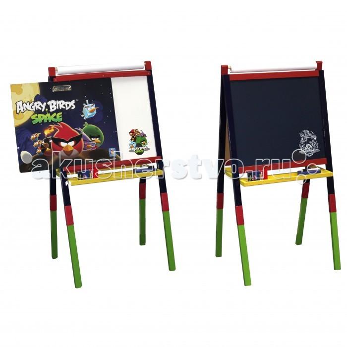 1 Toy Деревянный мольберт Angry birds Space от Акушерство