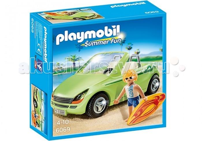 Конструкторы Playmobil Каникулы: Родстер с серфингистом playmobil веселые каникулы