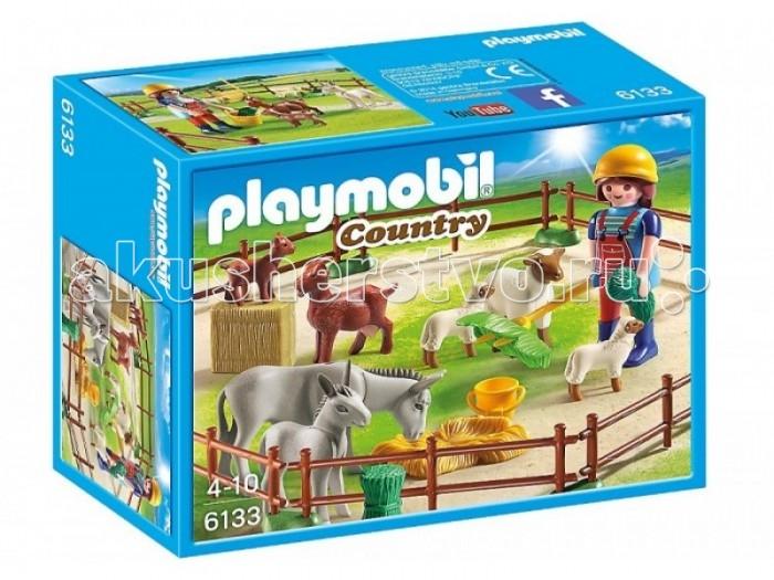 Конструкторы Playmobil Ферма: Фермер с домашними животными full set front rear brake discs disks rotors pads for suzuki gsxr 750 94 95 gsx r 1100 p r s t 1993 1994 1995 1996