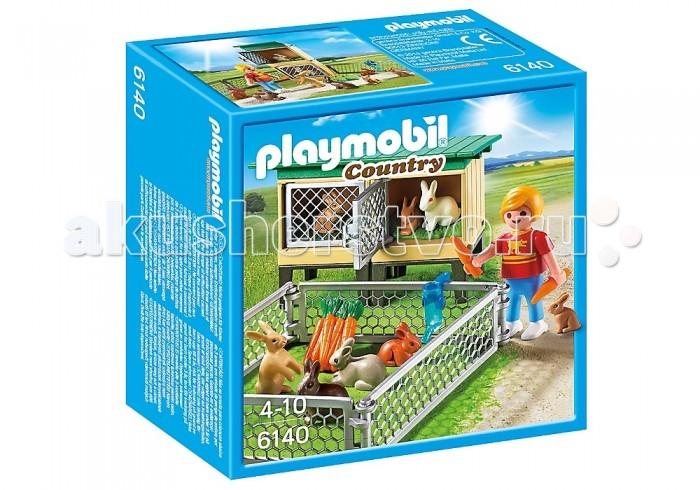 Конструкторы Playmobil Ферма: Вольер и клетки с кроликами favourite 1602 1f