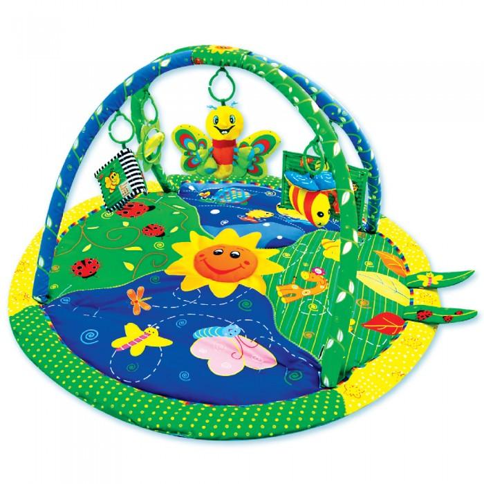 Купить Развивающие коврики, Развивающий коврик Ути Пути детский с дугами Цветущий сад