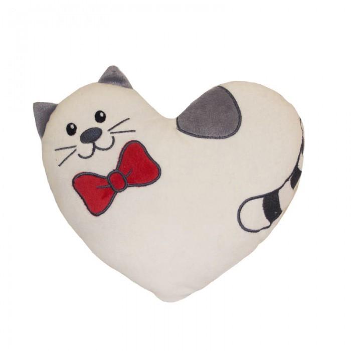 Подушки для малыша Gulliver Подушка котик Тимур 25 см gulliver подушка сердечко котику моему 36 см 7 43924
