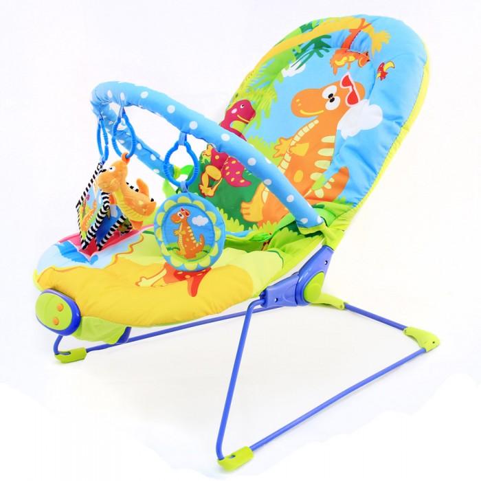 Ути Пути Шезлонг детский Веселый динозаврикШезлонг детский Веселый динозаврикУти Пути Шезлонг детский Веселый динозаврик, 51 х 78 х 59 см, 1 дуга, 3 игрушки, вибро, музыка.  Шезлонг детский - это удобное кресло, с музыкальным и вибро эффектом, которое надежно фиксирует малыша с помощью трехточечного ремня безопасности и подходит малышу с первых месяцев жизни, благодаря регулируемой по высоте спинке. Спинка регулируется в трех положениях.  Два совместных режима работы: вибро + музыка Работает от 3-х батареек С Для детей до 9 кг.  В наборе:  съемная дуга и три игрушки-подвески безопасное зеркальце мягкая погремушка  мягкая книжка и веселая рожица трехточечные ремни безопасности.<br>