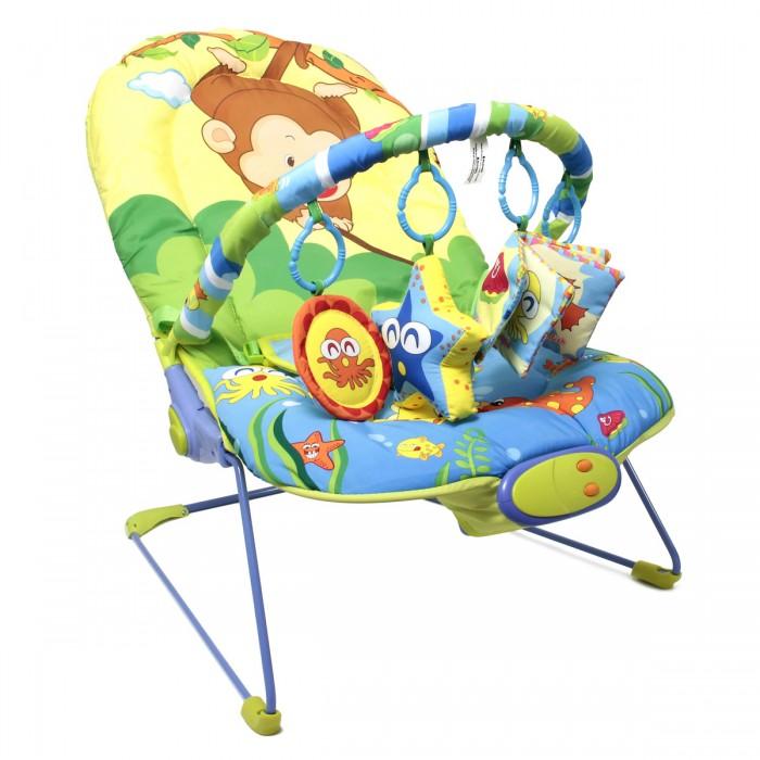 Детская мебель , Кресла-качалки, шезлонги Ути Пути Шезлонг детский Забавная обезьянка арт: 137219 -  Кресла-качалки, шезлонги