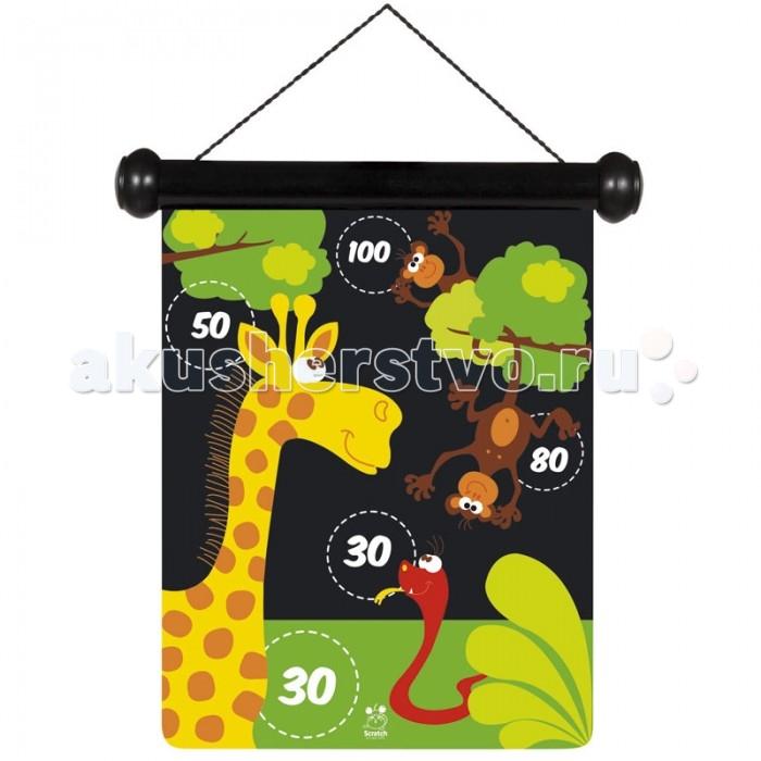Спортивный инвентарь Scratch Дартс Зоопарк