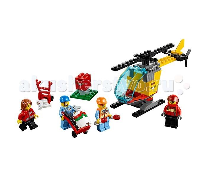 Lego Lego Город Набор для начинающих Аэропорт lego lego city 60106 набор для начинающих пожарная охрана