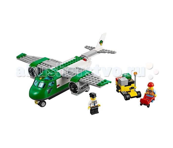 Lego Lego Город Грузовой самолёт