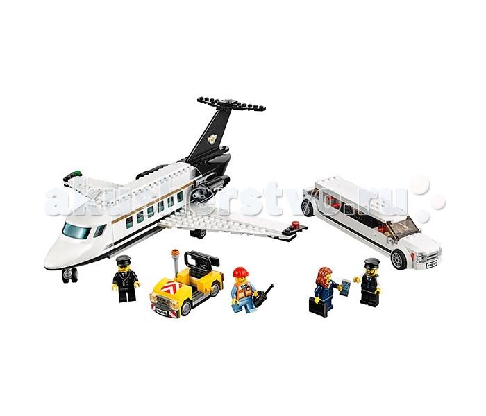Конструктор Lego Город Служба аэропорта для VIP-клиентов