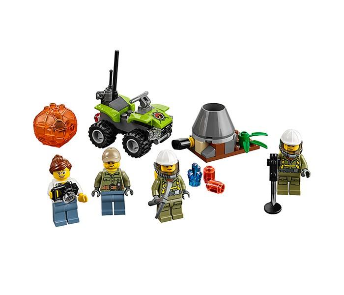 Lego Lego Город Набор для начинающих Исследователи Вулканов lego lego city 60120 набор для начинающих исследователи вулканов
