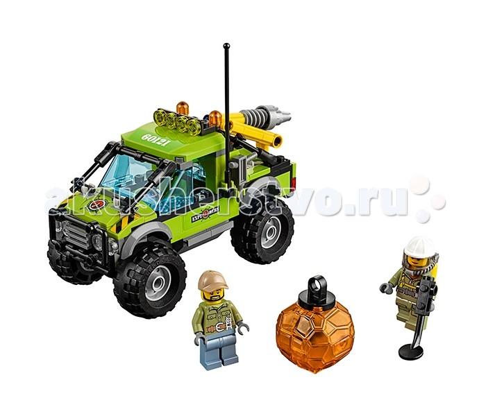 Lego Lego Город Грузовик Исследователей Вулканов lego 60139 город мобильный командный центр