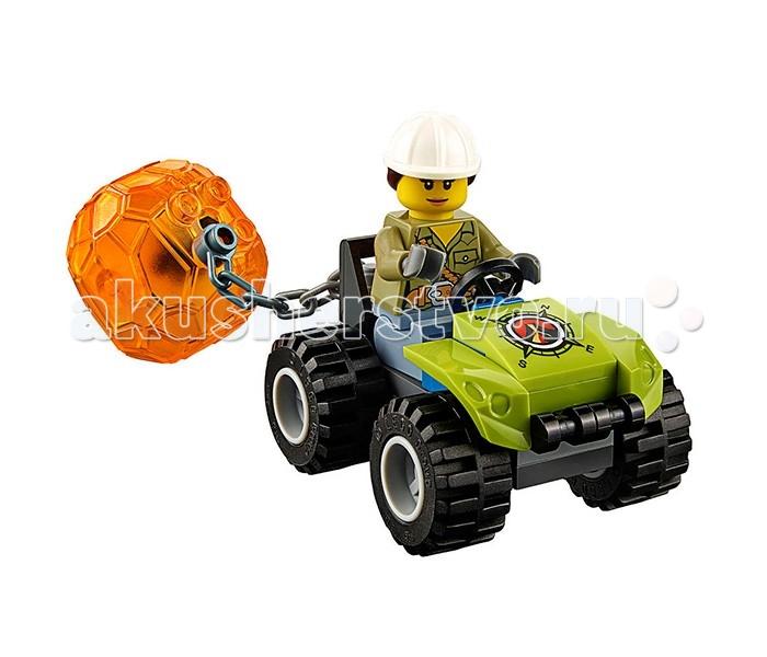 Конструктор Lego Город Вездеход исследователей вулканов