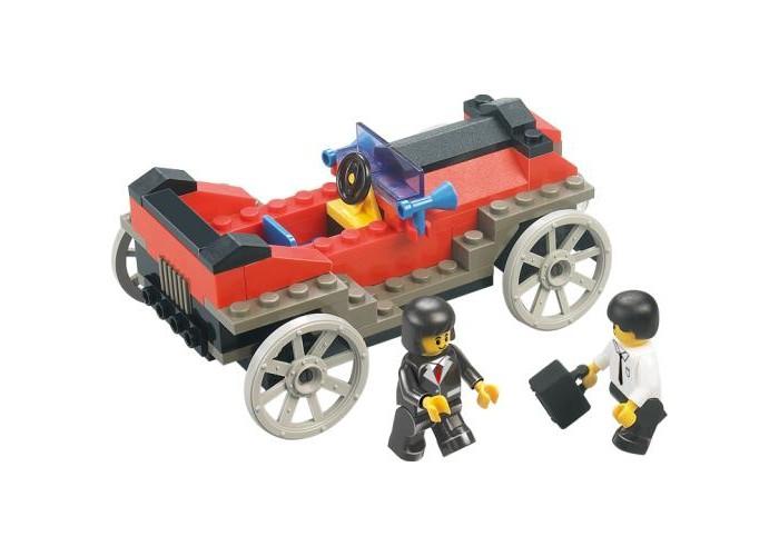 Конструкторы Sluban BOX Ретро автомобиль M38-B0229R (95 элементов) конструкторы sluban джип полиции m38 b700 45 элементов
