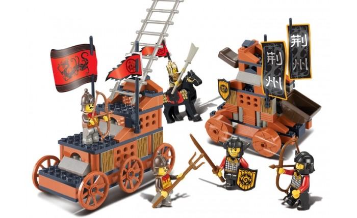 Конструкторы Sluban BOX Средневековые баталии M38-B0262 (232 элемента) конструкторы sluban box розовая мечта m38 b0152r 472 элемента