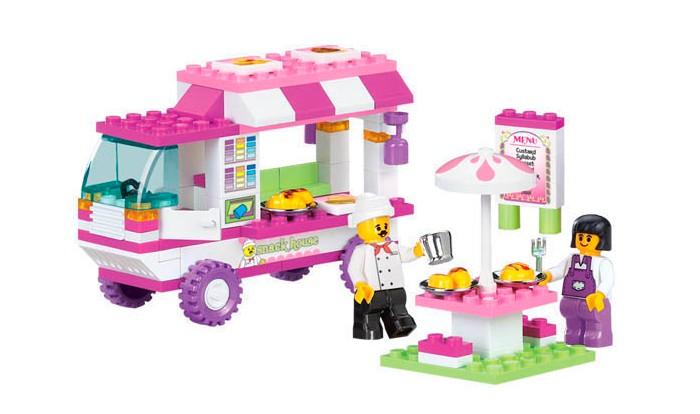 Конструкторы Sluban BOX Розовая мечта M38-B0155R (102 элемента) конструкторы sluban box розовая мечта m38 b0152r 472 элемента