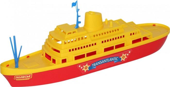 Игрушки для ванны Полесье Корабль Трансатлантик легковой автомобиль полесье жук 0780